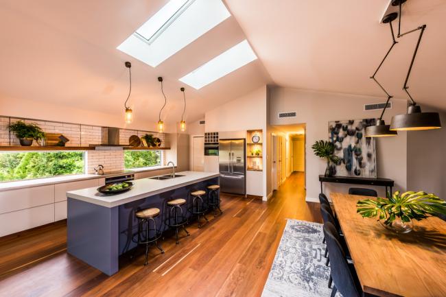 Zoner votre cuisine avec des lustres élégants