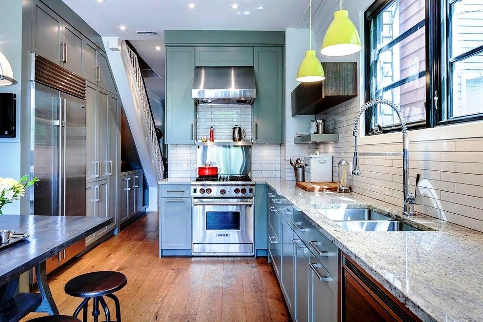 La cuisine intégrée transforme tous les éléments des ustensiles et appareils de cuisine en un seul organisme harmonieux
