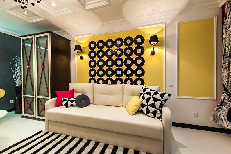 Chambre d'adolescente Pop Art - Décoration d'intérieur