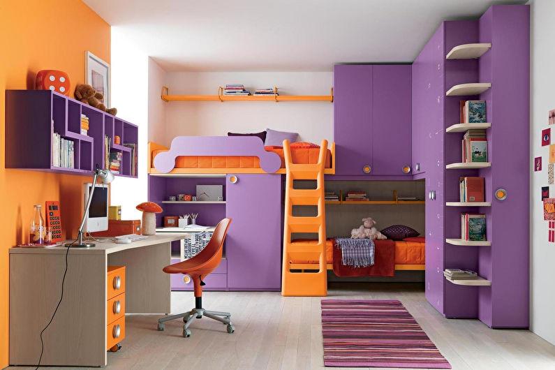 Conception d'une chambre d'enfant pour une adolescente
