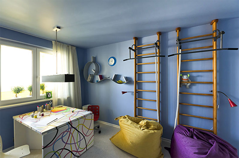 Chambre d'adolescente high-tech - Design d'intérieur