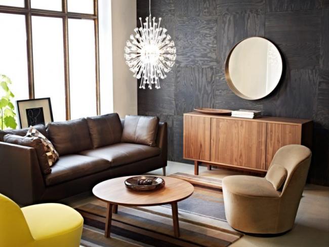 Des meubles confortables et prestigieux créent une belle image