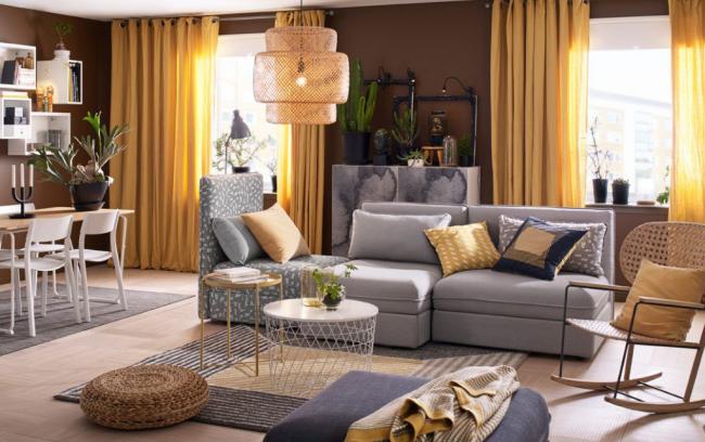 Les meubles d'Ikea sont disponibles dans une grande variété de tailles