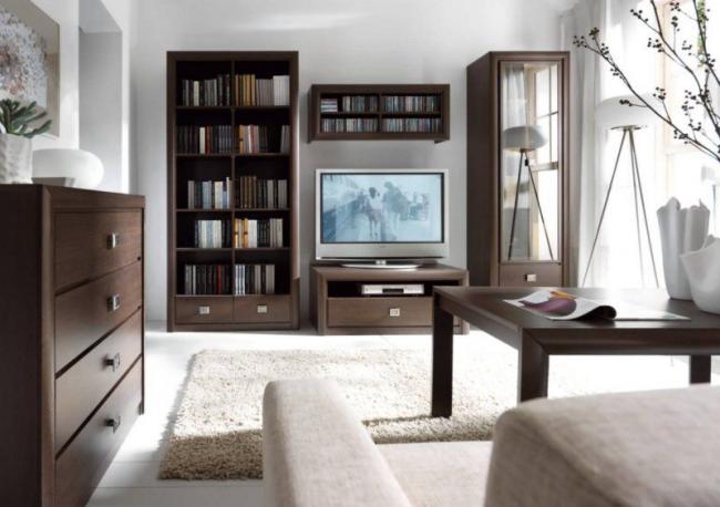Modèle Elite de meuble d'armoire pour le salon - Hemnes