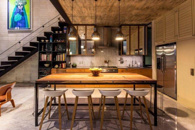 La disposition de l'ensemble de l'appartement n'est pas fondamentale, mais nécessite une unité de style.