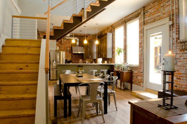 Appartement duplex style loft