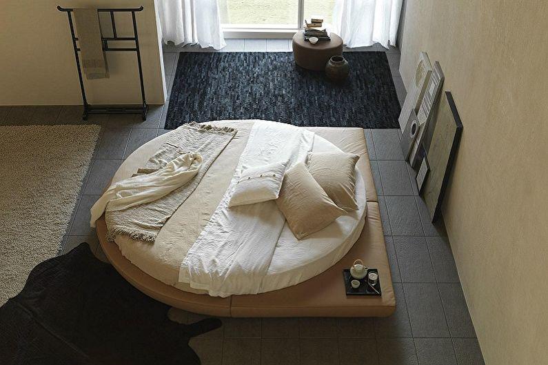 Types de lits ronds dans la chambre - Lit rond