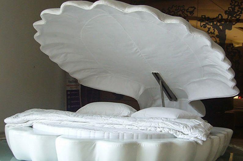Types de lits ronds dans la chambre - Lit de bassin rond