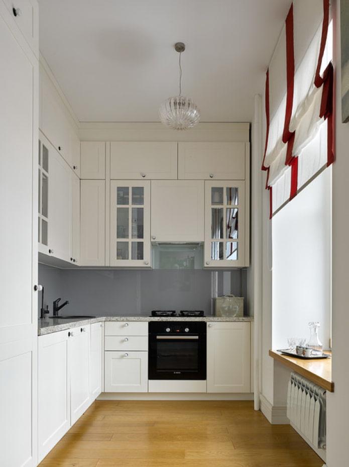 mezzanine dans la cuisine