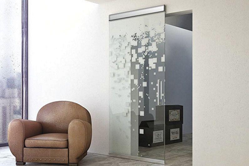 Portes intérieures en verre - Avantages et inconvénients