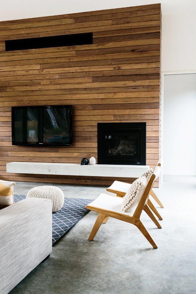 Eco-style à l'intérieur du salon