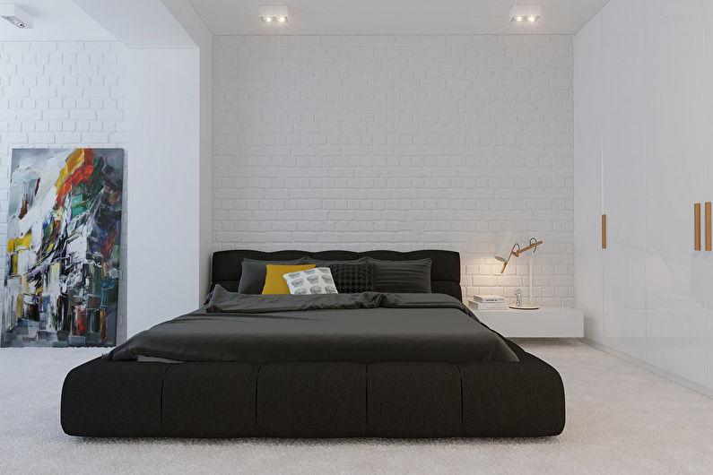 Conception de chambre minimaliste - Caractéristiques