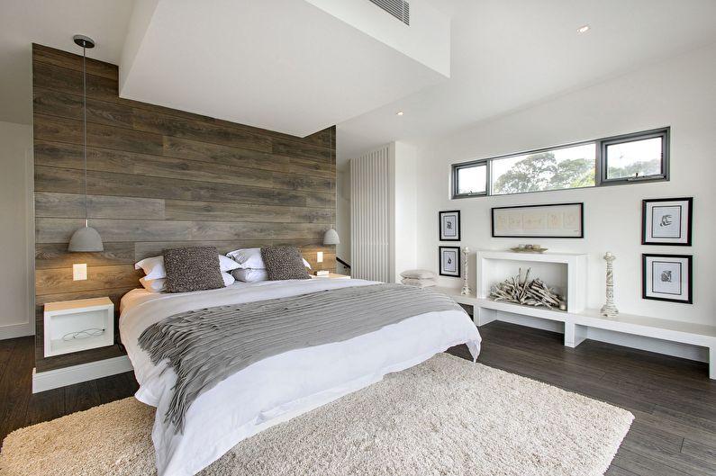 Design de chambre minimaliste - Décoration murale
