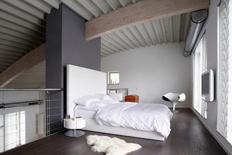 Conception de chambre minimaliste - Finition de sol