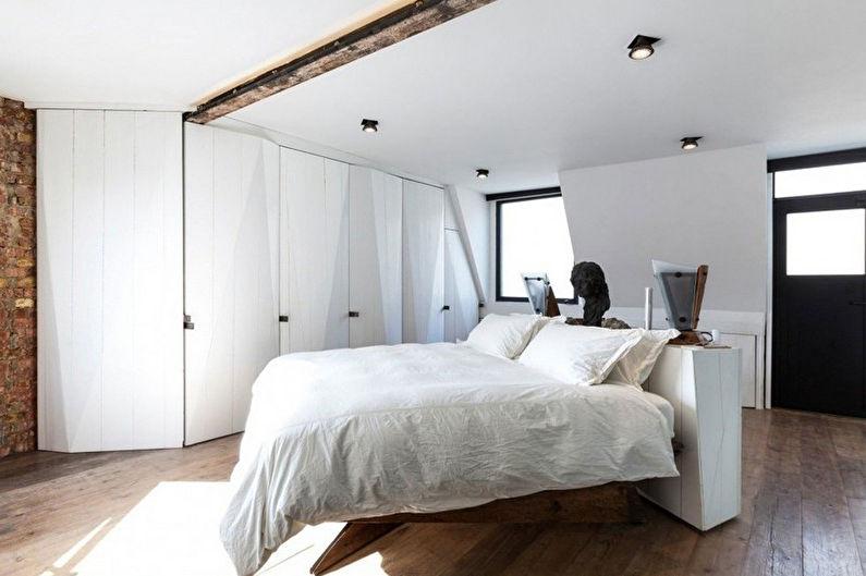 Conception de chambre minimaliste - Décoration de plafond