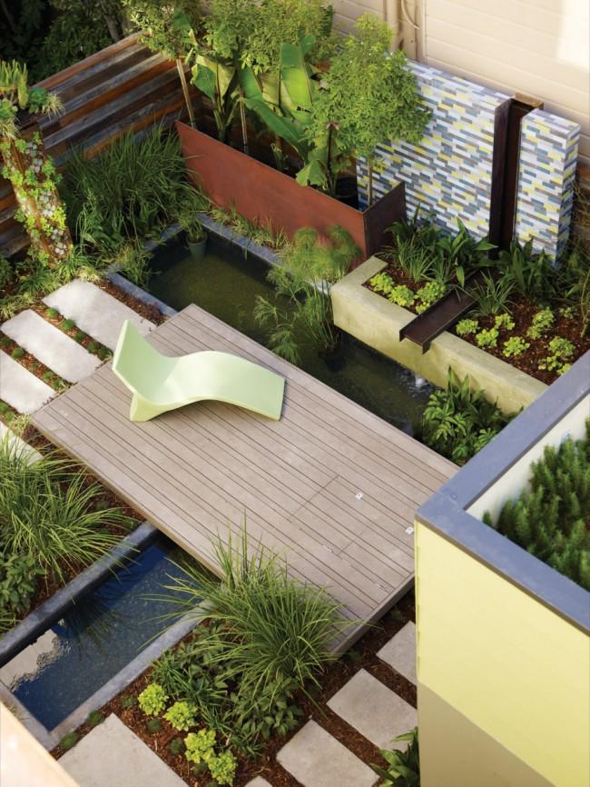 La tâche principale de l'aménagement paysager est de créer de la beauté en combinaison avec divers équipements.