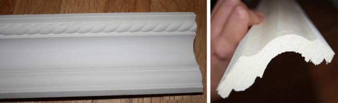 Plinthe en polyuréthane