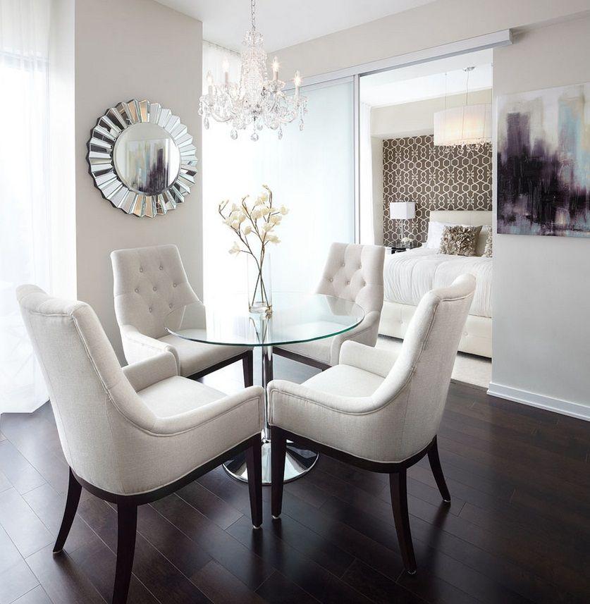Style classique moderne dans la décoration intérieure d'un appartement de deux pièces