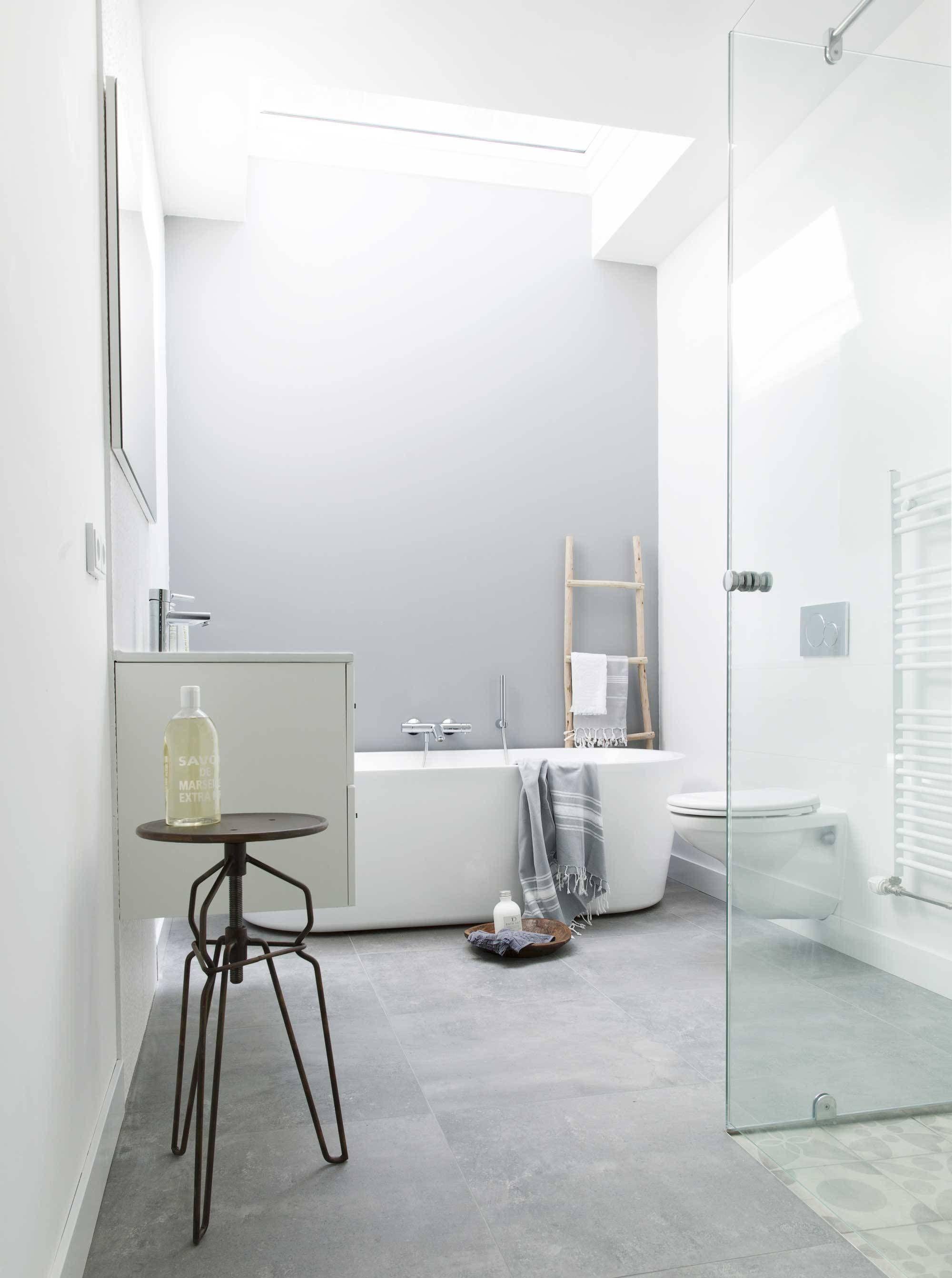 Salle de bain et toilettes combinées - spacieuses et fonctionnelles