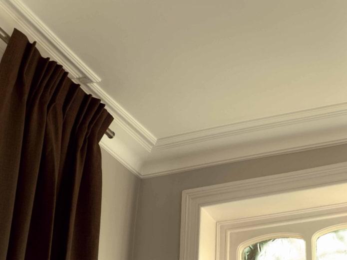 filet de plafond en polystyrène