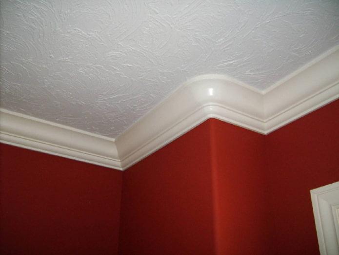 Filet de plafond en PVC