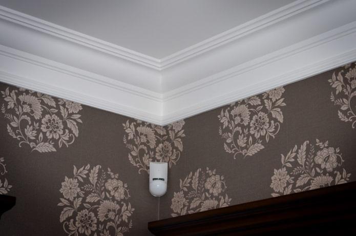 congé de plafond droit