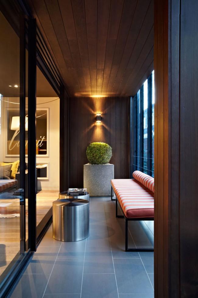 Lors du choix des meubles pour un balcon, il est nécessaire de prendre en compte son microclimat
