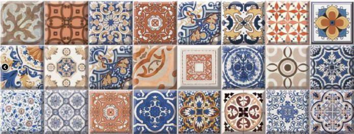 carreaux de patchwork