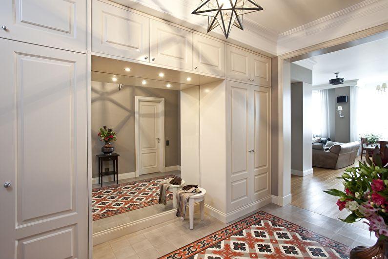 Carreaux de sol de couloir - Carreaux de vinyle de quartz