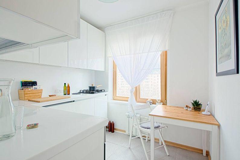 Cuisine lumineuse de style scandinave - Design d'intérieur