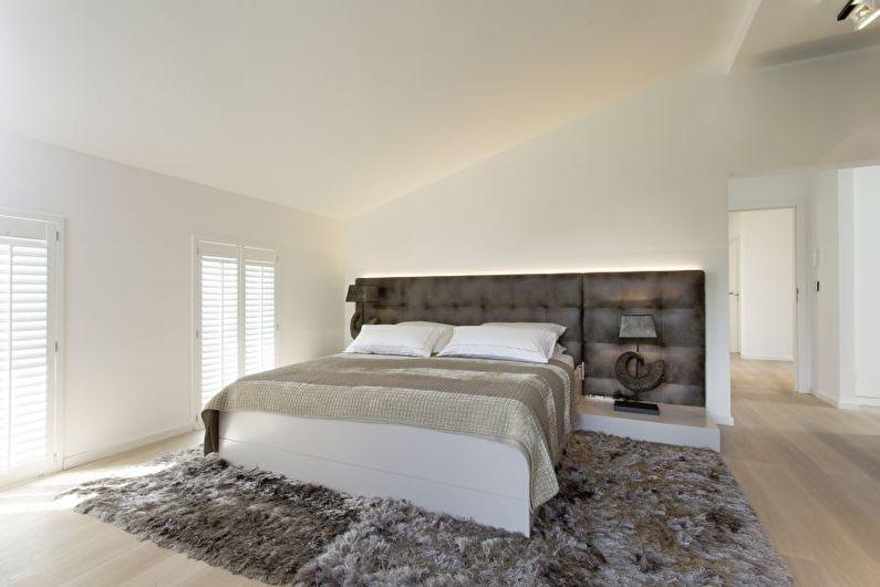 Conception de chambre à coucher moderne - Caractéristiques