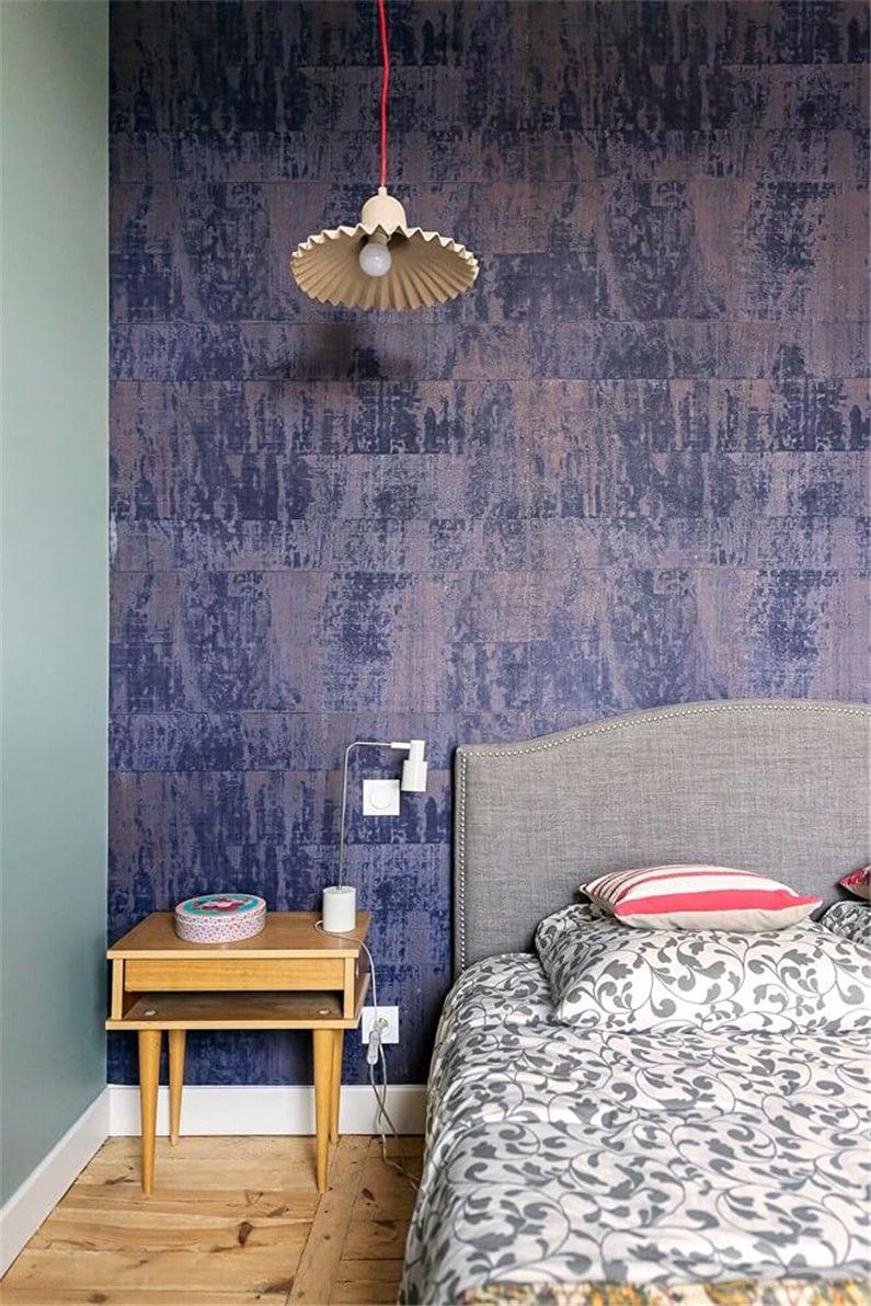 Conception de chambre à coucher moderne - Taches lumineuses