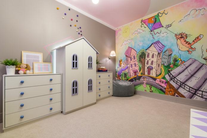photos murales pour un enfant de 4 à 6 ans