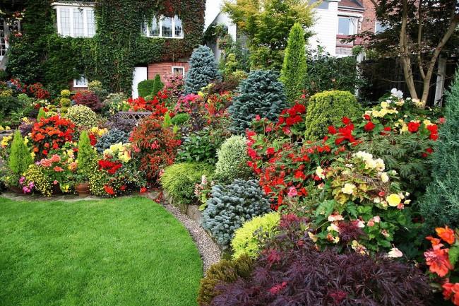 Les mixborders vivaces bordant les allées de jardin sont une vraie trouvaille pour ceux qui veulent que leur jardin soit toujours beau.