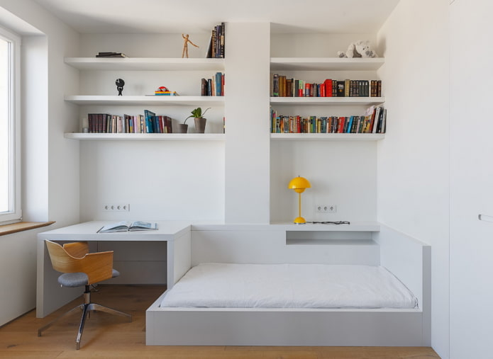 meubles blancs