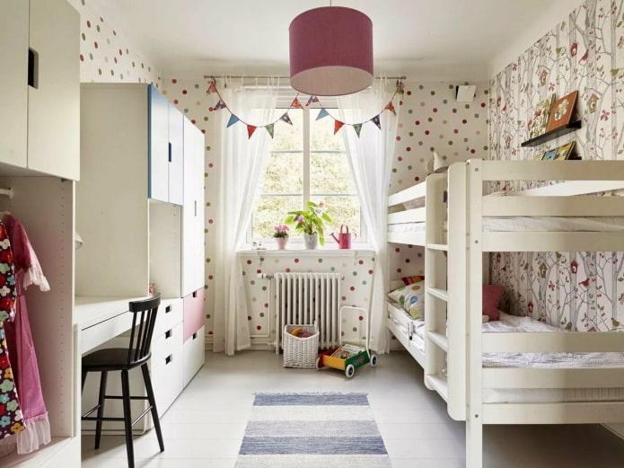 Garderie pour deux enfants