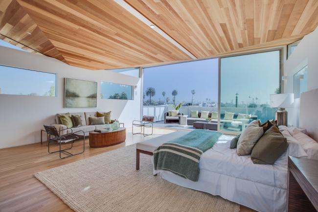 Salon et chambre dans un style moderne