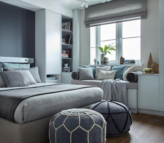 Le gris est parfait pour les intérieurs modernes