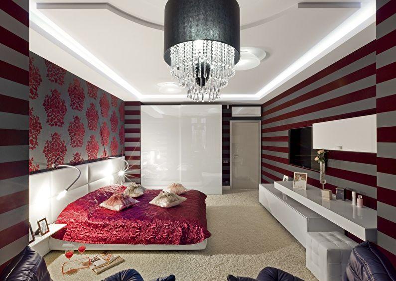 Combinaison de papiers peints dans la chambre à coucher - Companion Wallpaper