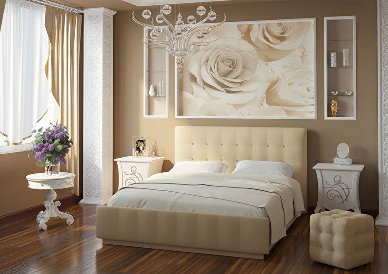 L'association du papier peint dans la chambre - Papiers peints et murales