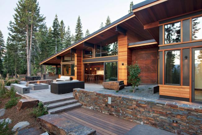 Terrasse - un endroit pour se reposer et récupérer après une journée de travail
