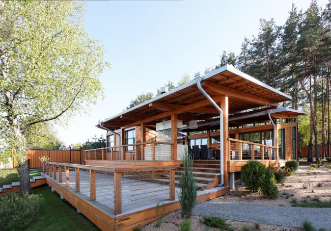 Vous pouvez construire vous-même une terrasse