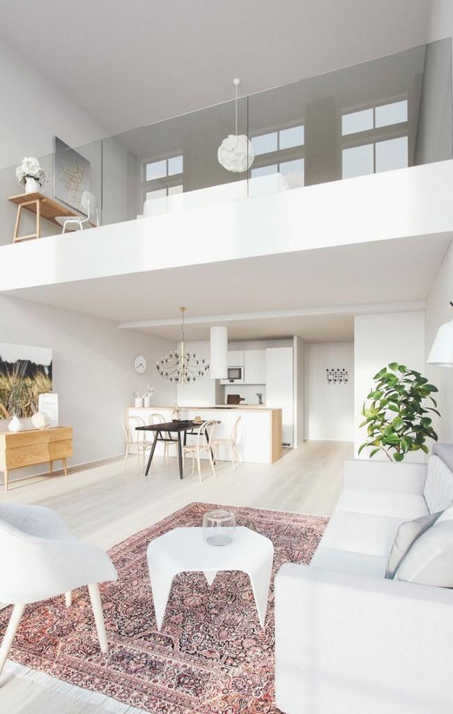 Appartement duplex élégant
