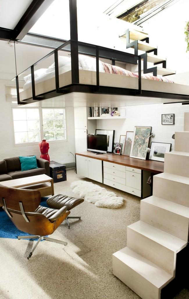 Appartement, avec un niveau séparé pour un couchage