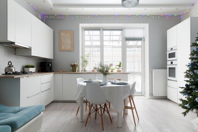 Cuisine blanche Ikea