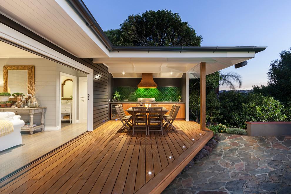 La terrasse est tout simplement irremplaçable lors de l'aménagement d'une terrasse et d'une véranda