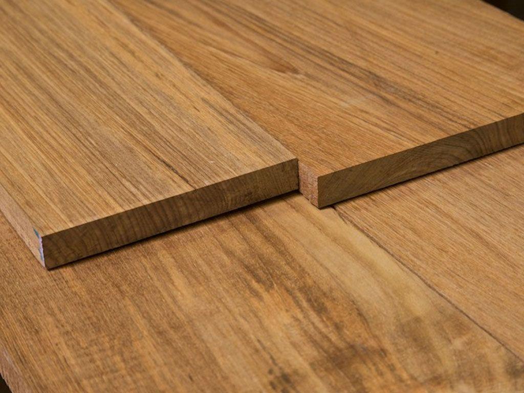 Planche de bois naturel