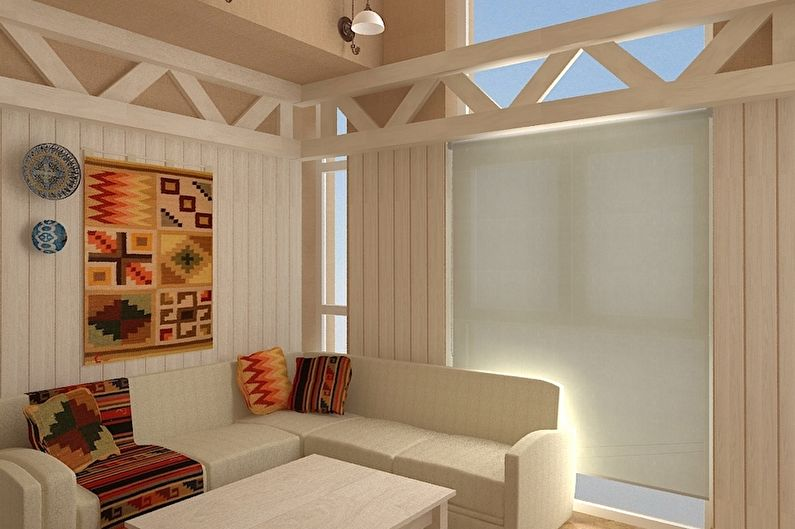 Baignoire de style scandinave - Design d'intérieur