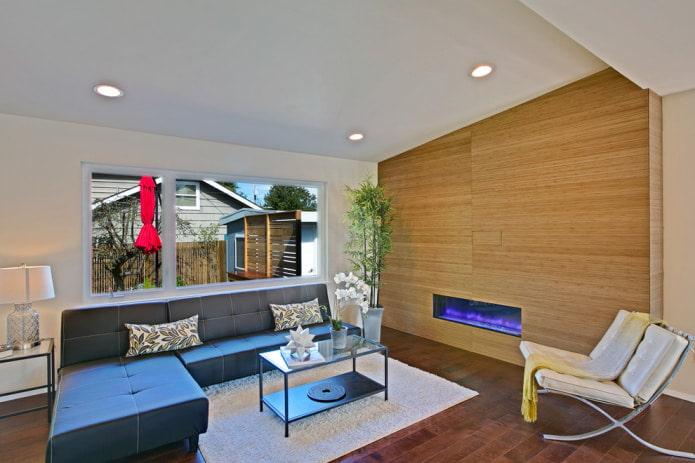 salon élégant dans un style moderne
