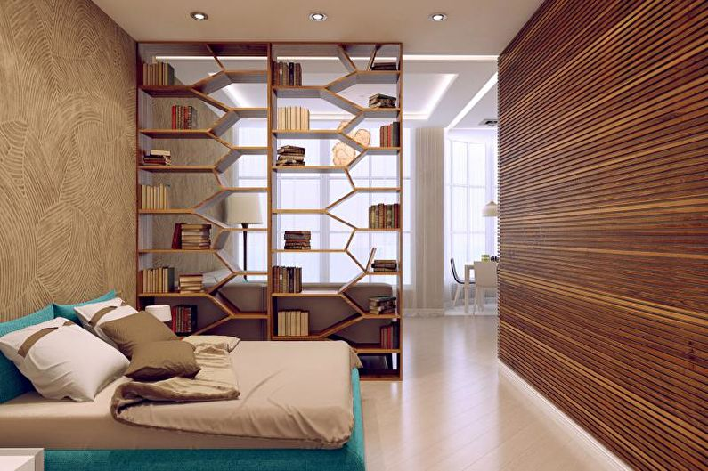 Meubles - Zonage de la pièce dans la chambre et le salon